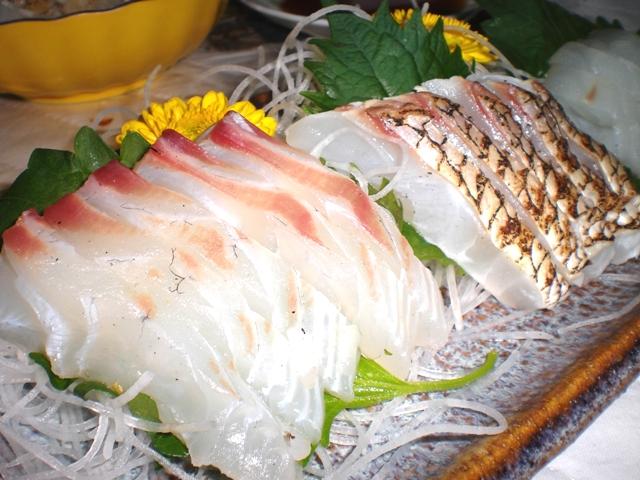 【我家の魚料理】マダイの炙り
