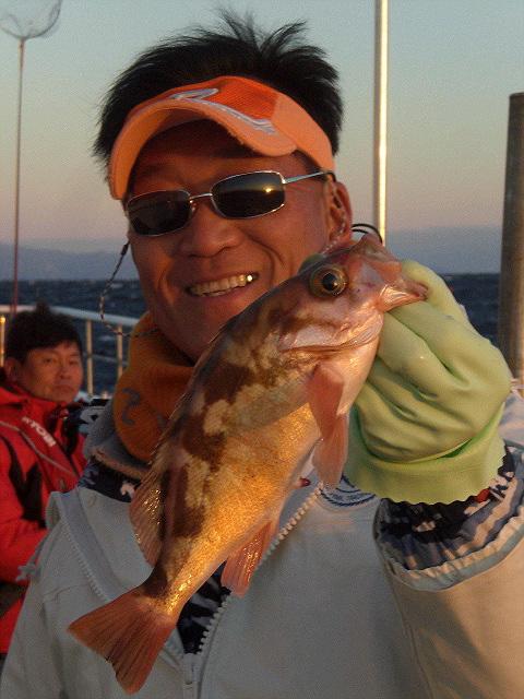 <速報>平潟沖のオキメバル