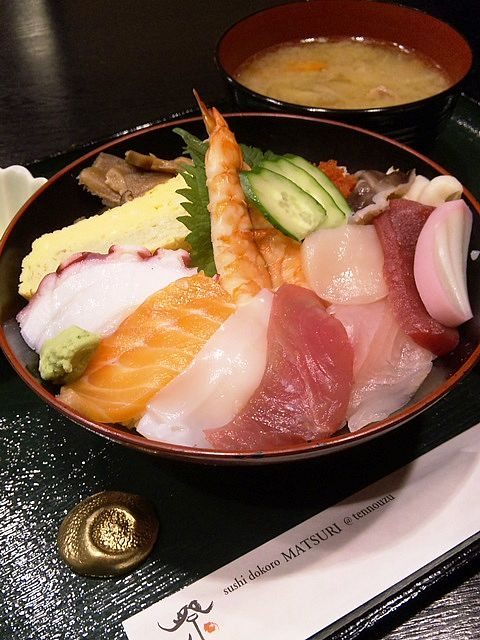 ちらし寿司の大盛り!(^^ @天王洲『鮨処 祭』
