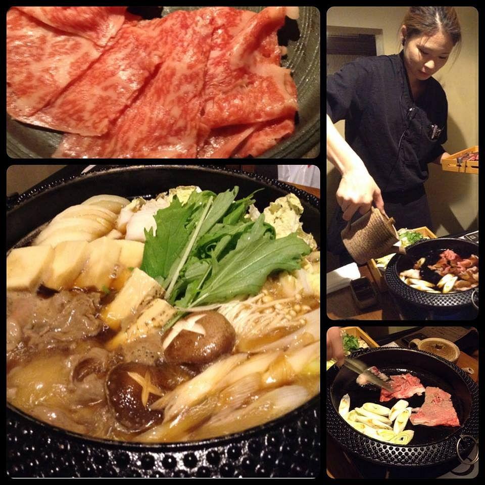 お魚&すき焼き宴会@銀座